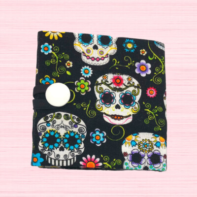 Tea Wallet - Day Of The Dead