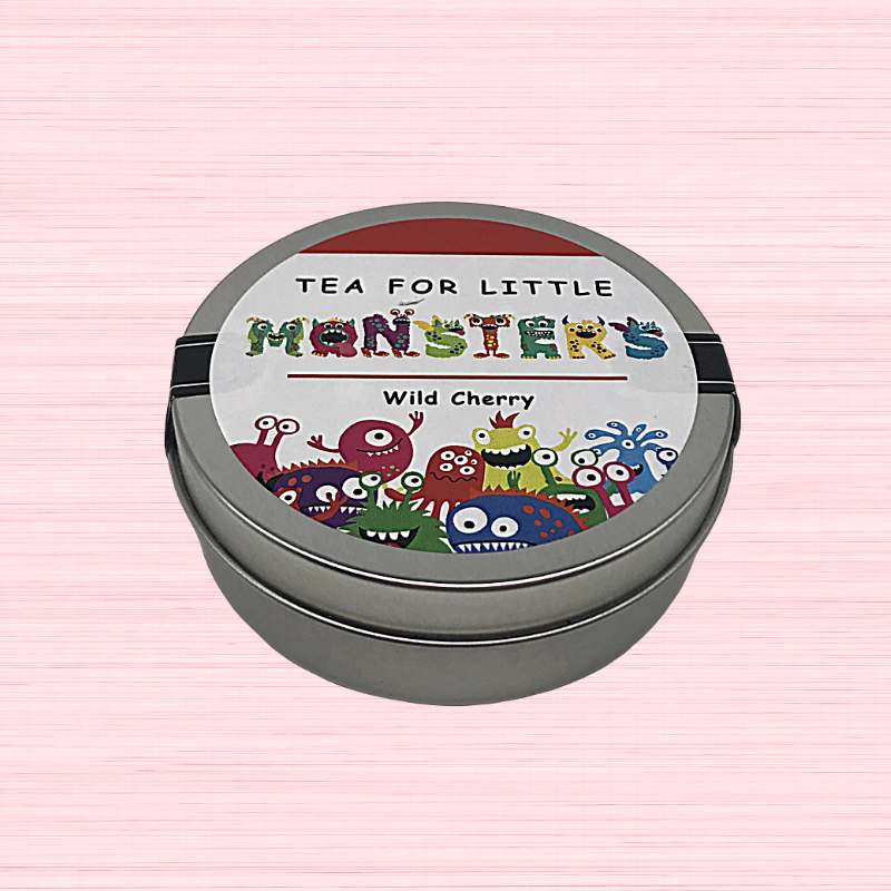 Kids Tea - Little Monsters Tin Wild Cherry