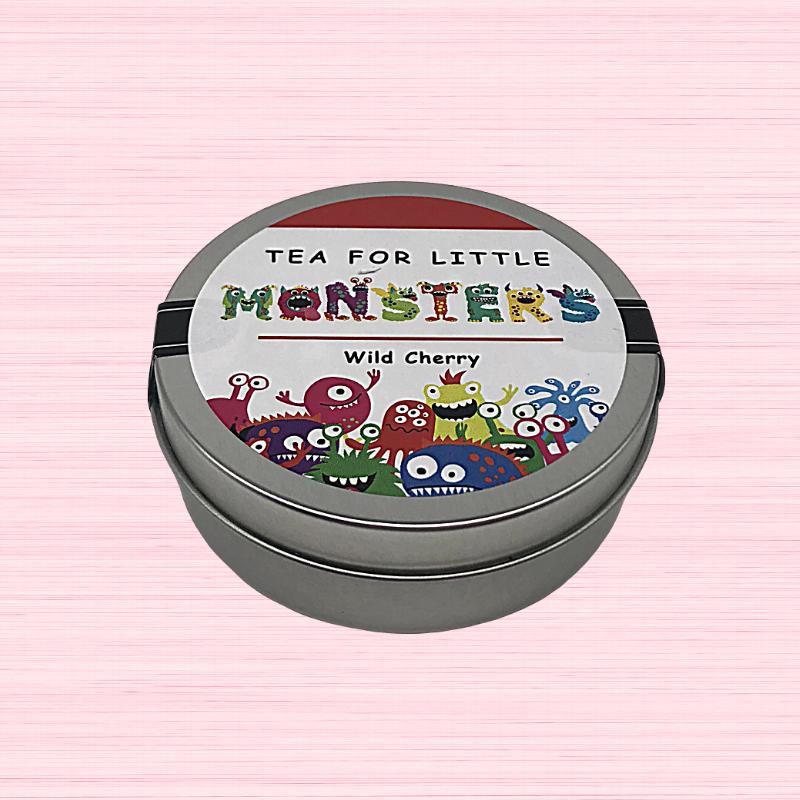 Kids Tea - Little Monsters Tin Wild Cherry