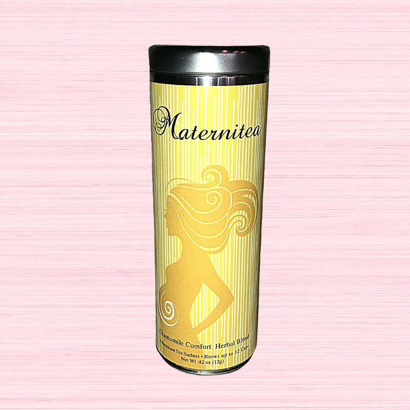 Occassion Tea Tin - Maternitea - Chamomile Comfort Herbal Blend
