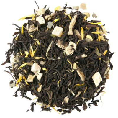Ginger Peach | Black Tea - 2 oz.