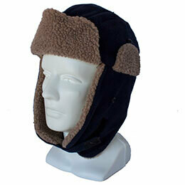 Fleece bomber hat