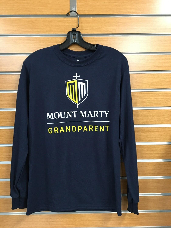 Mount Marty Grandparent LS Tee