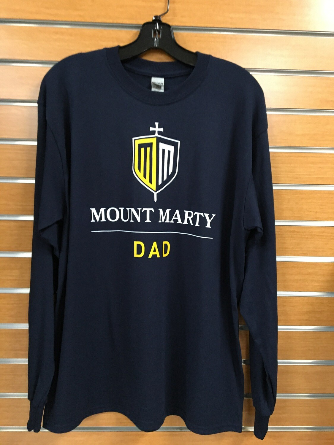 Mount Marty Dad LS T shirt