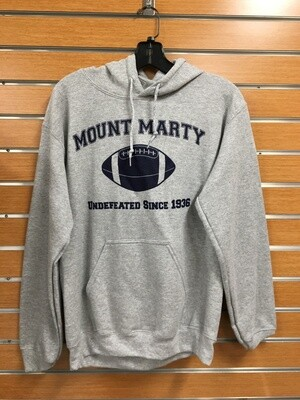 Undefeated football hooded sweatshirts