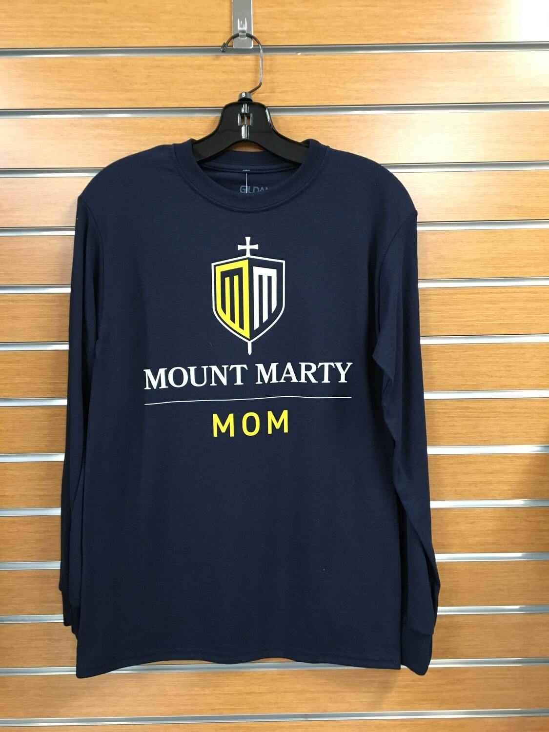 Mount Marty Mom LS T shirt
