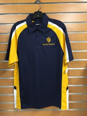 Sport Tek Men's Polo with Embroidered Shield