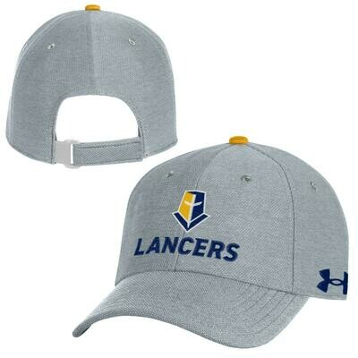 UA Classic Fit Lancers Adjustable Gray Hat