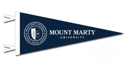 Mount Marty University Small Pennant