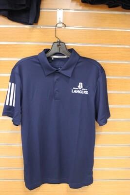 Adidas 3 Stripe Basic Polo