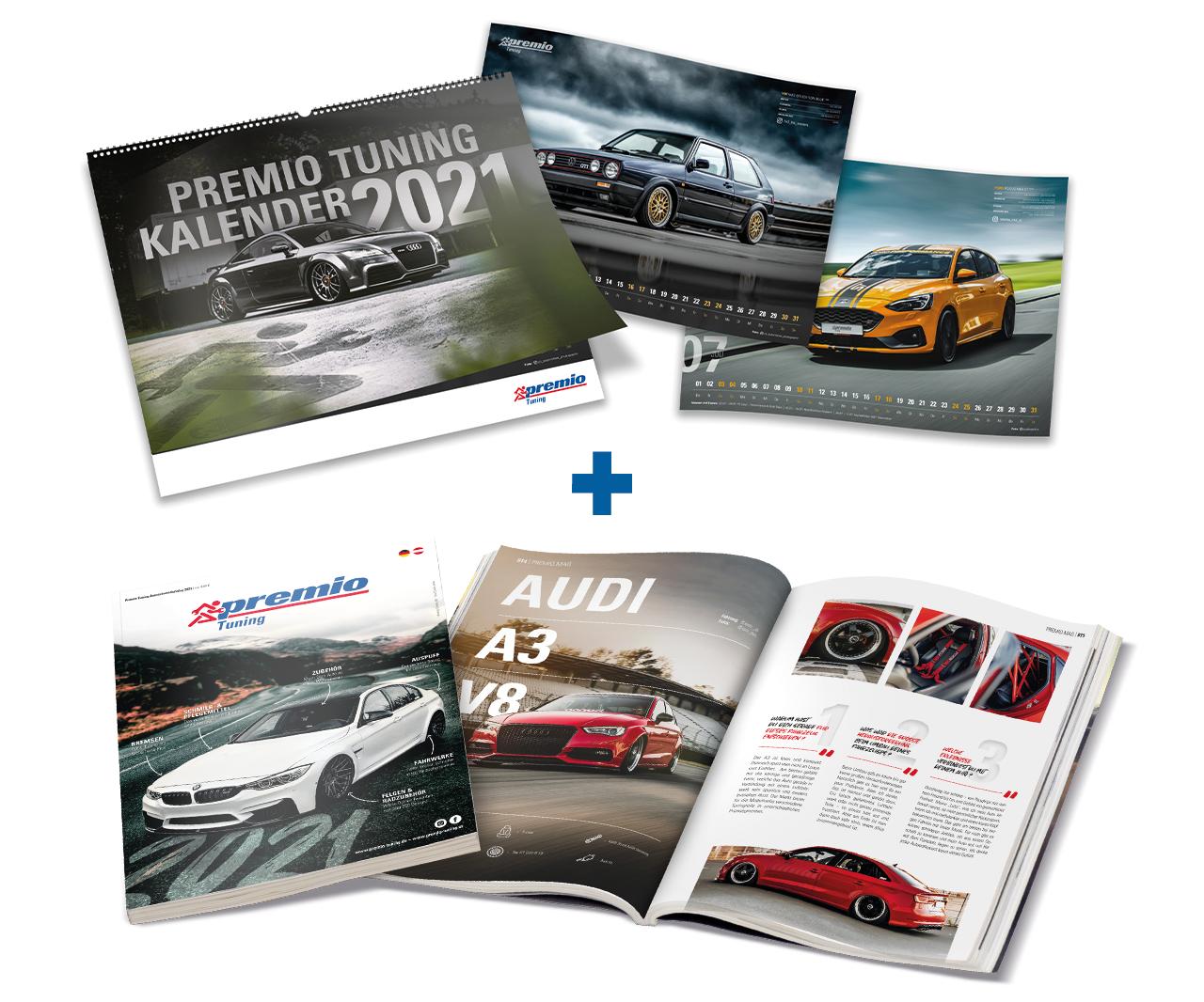 Bundle aus Kalender und Katalog 2021