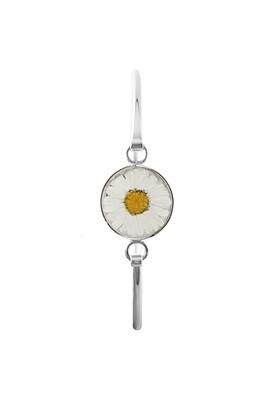 Real Daisy Circle Bracelet, Transparent