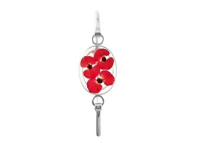 Crown Of Thorns, Oval Bracelet, Transparent