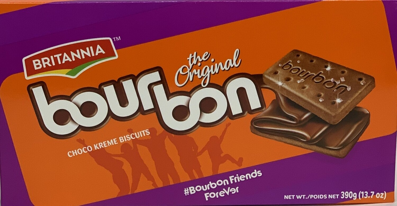 Britannia - Bourbon Chocolate Biscuit (390gr)