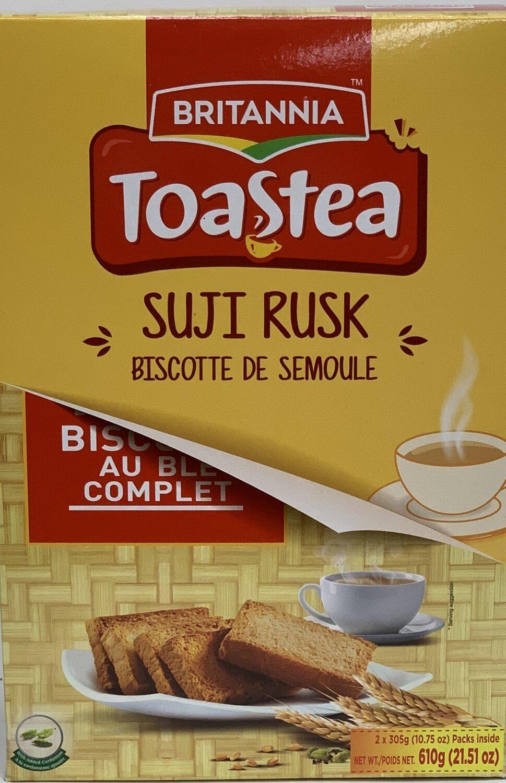 Britannia - Wheat Rusk Suji semolina (610gr)
