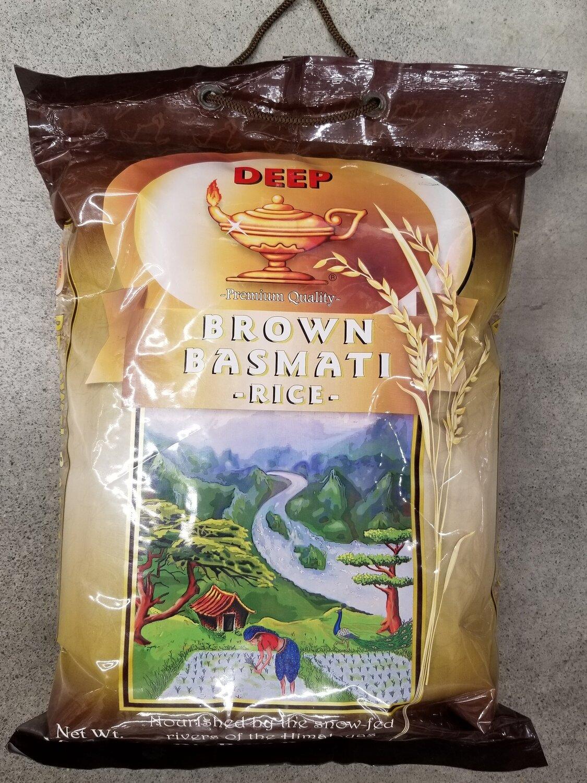 Deep - Brown Basmati Rice (10lb)