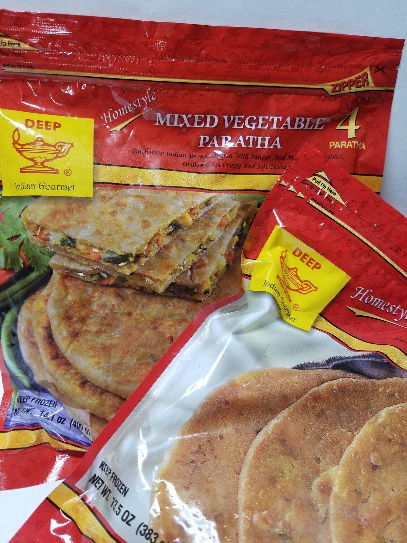 Deep - Mixed Vegetable Paratha (14oz)