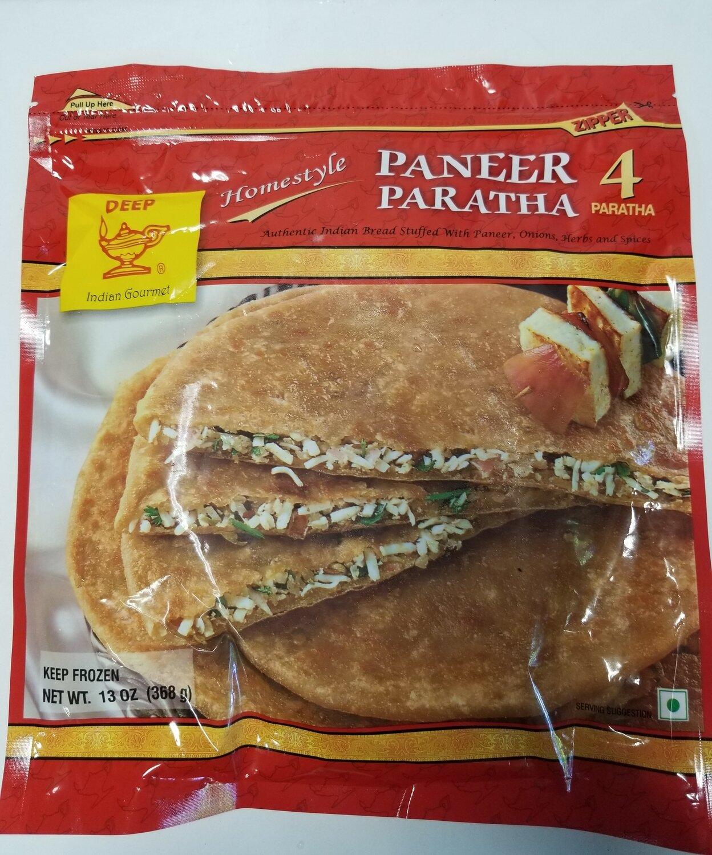 Deep - Paneer Paratha  (13oz)