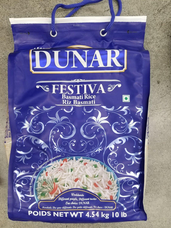 Dunar - Basmati Festiva Blue (10lb)