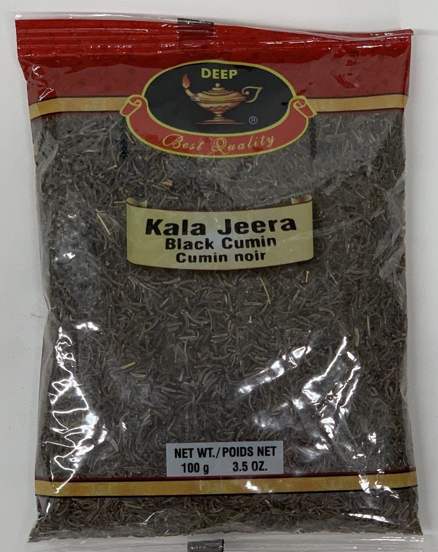 Deep Kala Jeera Black Cumin Seeds (Shah Jeera) (100gr)
