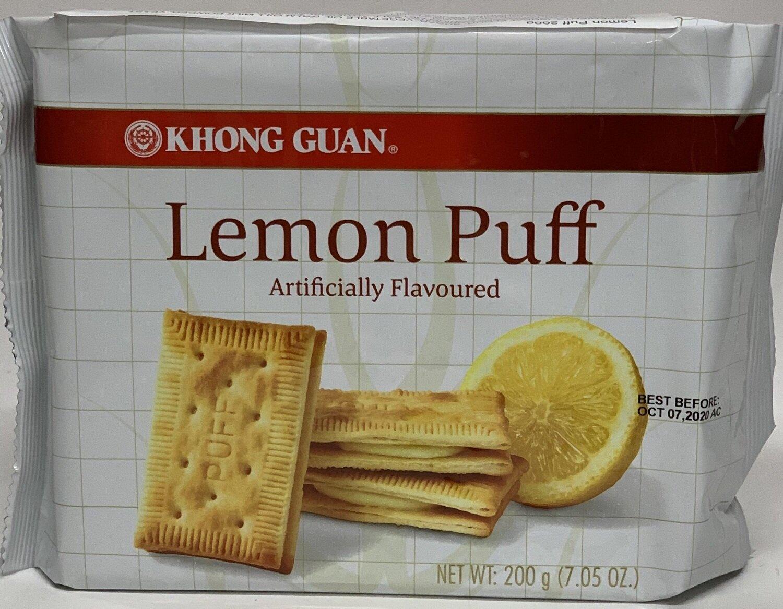 Khong Guan - Lemon Puffs (200g)