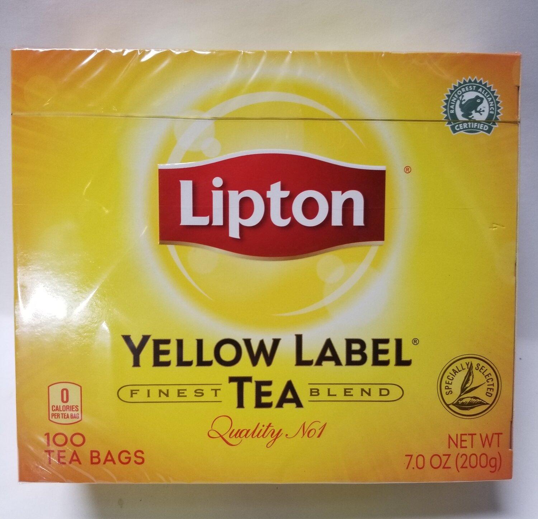 Lipton Yellow Label  - Tea Bags (100ct)