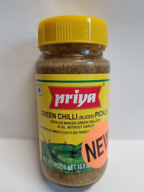 Priya - Green Chilli (300gr)