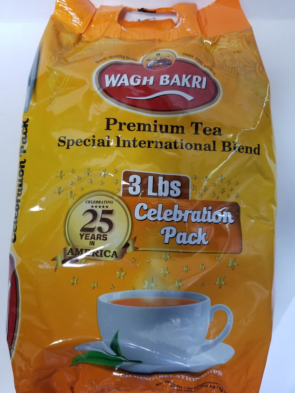 Wagh Bakri  - Tea Leaves (3lb)