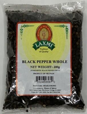 Laxmi Black Pepper Whole  (200gr)