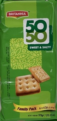 Britannia - Fifty Fifty Sweet & Salty Family (372gr)