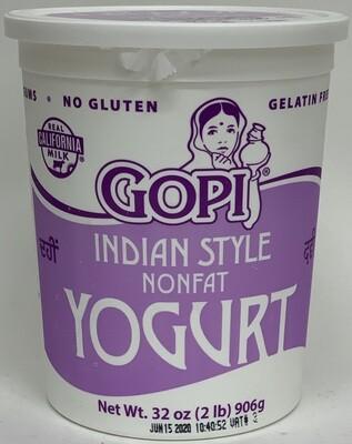Gopi - Nonfat 0% Yogurt (2lb)