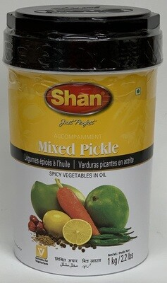 Shan - Mixed Pickle (1kg)