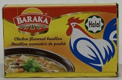 Baraka - Chicken Boullion Cube (21gr)