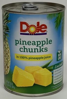Dole - Pineapple Tidbits (20oz)