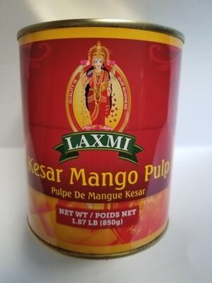 Laxmi - Kesar Mango Pulp  (850gr)