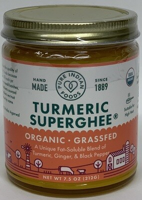 Pure Indian Foods - Turmeric Ghee Organic (7.50Z)