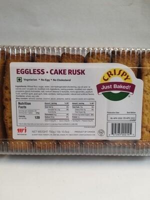 Crispy - Cake Rusk Eggless  (750gr)