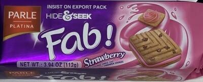 Parle - Hide & Seek Fab Strawberry  (112gr)