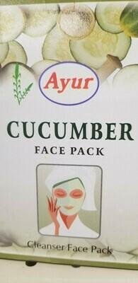 Ayur - Face Pack Cucumber  (100gr)