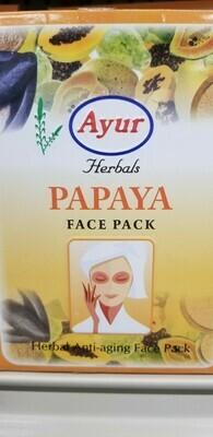 Ayur - Face Pack Papaya (100gr)