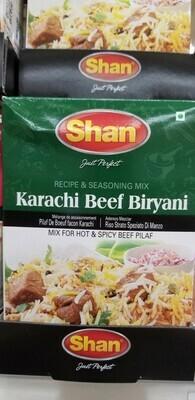Shan - Karachi Beef Biryani Masala Mix (50gr)