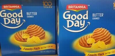 Britannia - Good Day ButterFamily Pack (600gr)