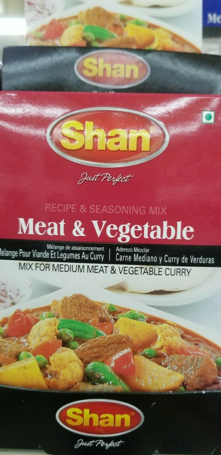 Shan - Meat & Vegetable Curry Masala Mix (100gr)