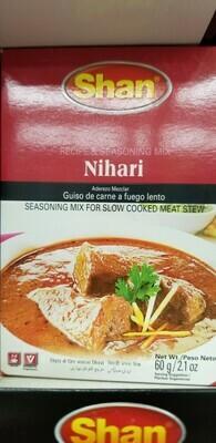 Shan - Nihari Curry Masala Mix (60gr)