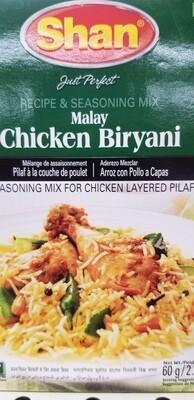 Shan - Malay Chicken Biryani Masala Mix (50gr)