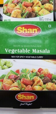 Shan - Vegetable Curry Masala Mix (100gr)