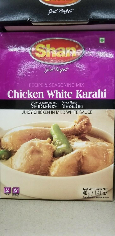 Shan - Chicken White Karahi Masala Mix (40gr)