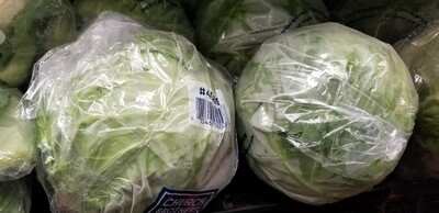Cabbage 1 each