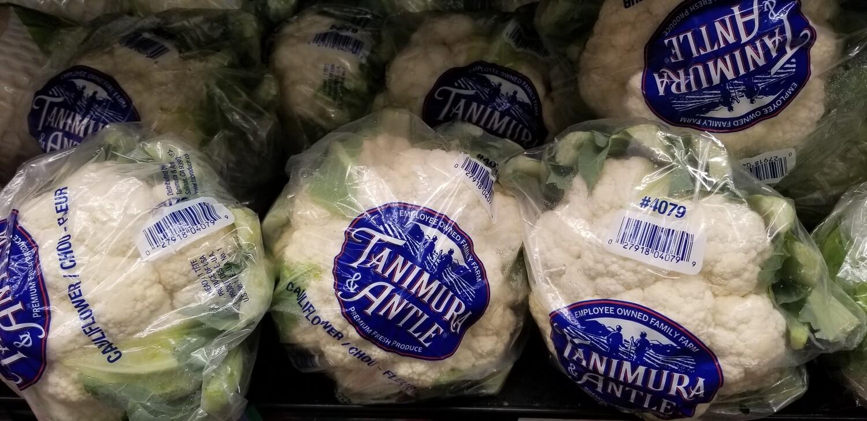 Cauliflower 1 Each