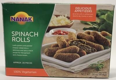 Nanak - Spinach Rolls  (454gr)